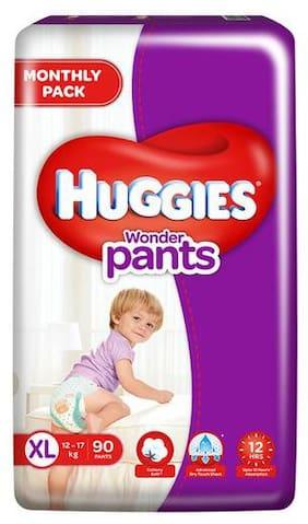 Huggies Wonder Pants Xtra Large - 90 Diapers 90 pcs