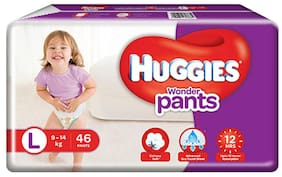 Huggies Wonder Pants Large Size Diapers 46 pcs