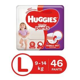 Huggies Wonder Pants Large (9-14 kg) - 46 Diaper Pants 46 pcs
