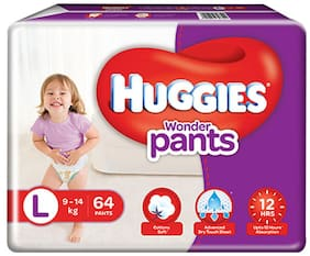 Huggies Wonder Pants Large Size Diapers 64 pcs