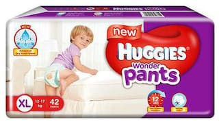 Huggies Wonder Pants Extra Large Diapers 42 pcs