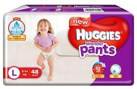Huggies Wonder Pants Large Size Diapers 48 pcs