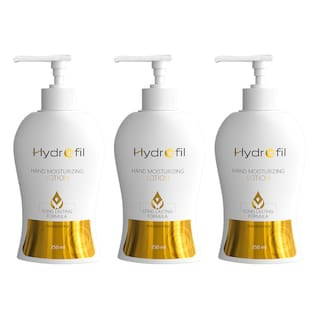 Hydrofil Paraben Free Hand Moisturizing Lotion with Long Lasting Formula  250 ml (Pack of 3)