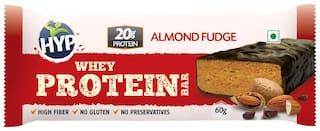 HYP Whey Protein Bar - Almond Fudge (Box of 6 Bars)