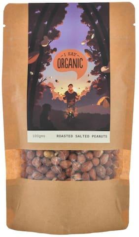 I SAY ORGANIC Roasted Salted Peanuts 100gm