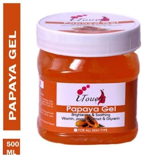 I Touch Papaya Gel Face Cream Gel Brightening 500 ml
