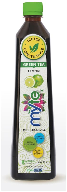 Myte ICE TEA CONCENTRATE : MOTHER'S CHOICE : GREEN LEMON
