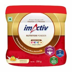 imActiv Protein Powder Mango Flavor 250g Pack of 1