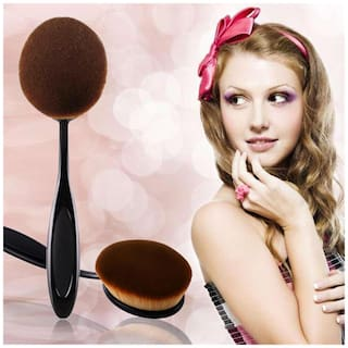 Imported High Quality Oval Shaped Easy to use Foundation Aplicator Brush