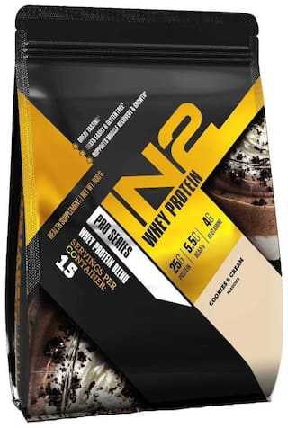 IN2 Whey Protein 500 g - Cookies and cream