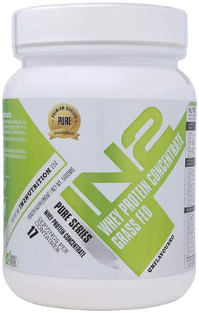 IN2 Whey Protein Concentrate grass Fed 500 g