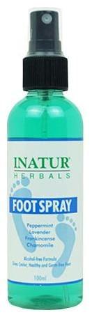 INATUR  Foot Spray 100 ml