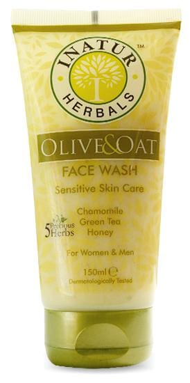 Inatur Olive & Oat Face Wash 150 ml