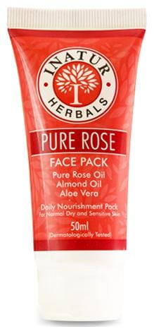 Inatur Pure Rose Face Pack 50 ml
