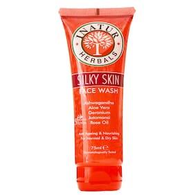 Inatur Silky skin Face Wash 75 ml
