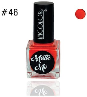 Incolor Matte Nail Polish (12ml) Red