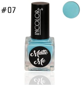 Incolor Matte Nail Polish (12ml) Turquoise Blue