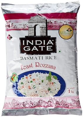 India Gate Basmati Rice Feast Rozzana 1 kg