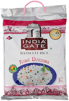 India Gate Basmati Rice - Feast Rozzana 5 kg