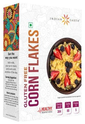 Indian Earth Corn Flakes 250 gm
