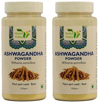 Indian Herbal Valley Ashwagandha Powder 100 g ( Pack of 2 )