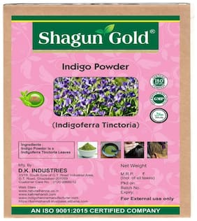 Indigo henna powder 100% natural (black henna) no ppd & chemical free for hair care  200gm