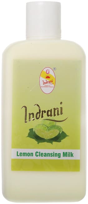 Indrani Lemon Cleansing Milk For Women Helps In Nourishing Your Skin And Makes Your Skin Glow 500 ml