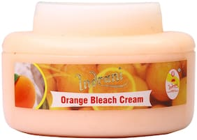 Indrani Orange Bleach Cream For Women Gives A Natural Soft Glow To Skin 200 g