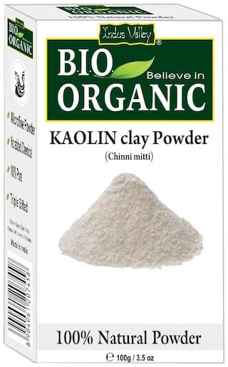 Indus Valley Bio Organic Kaolin Clay For Skin Glowin g