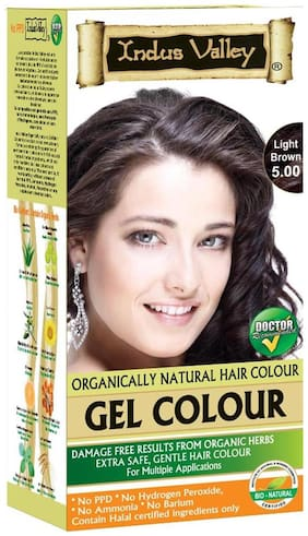 Indus Valley 100% Organic Light Brown 5.0 Ammonia Free (For Customized Colours)