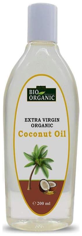 Indus Valley BIORGANIC Extra Virgin Coconut Oil 200ml (Pack of 1)