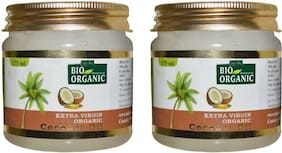Indus Valley Extra Virgin Pure Coconut Oil - Twin Pack (For Lice Protect Hair)