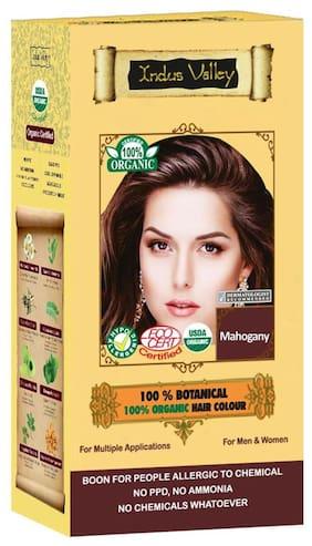 Indus Valley Professional Hair Colour Botanical Mahogany (Restore Shine)