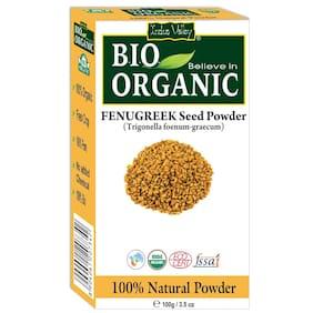 Indus Valley Bio Organic 100% Natural Fenugreek Powder