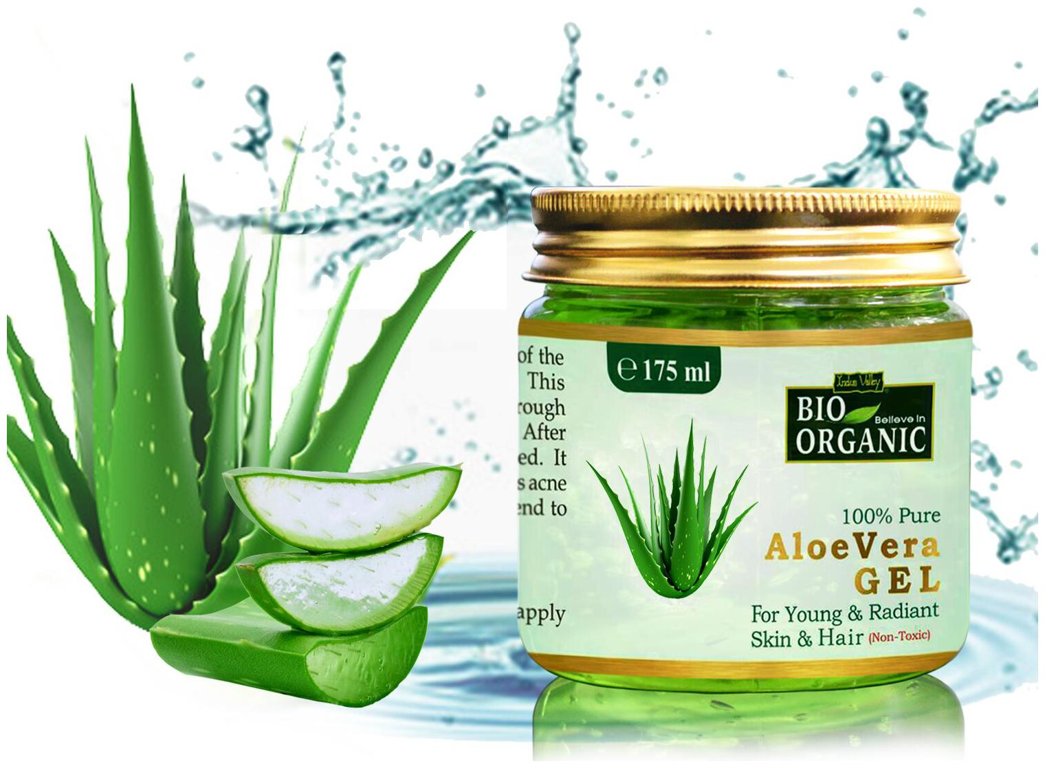 Buy Indus Valley Bio Organic 100 Pure Aloe Vera Gel 175 Ml Online At Low Prices In India Paytmmall Com