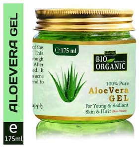Indus Valley Bio Organic 100% Pure Aloe Vera Gel (175 ml )
