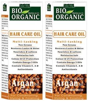 Indus Valley Best Argan Moroccan Oil (Treat Bug Bites) Twin Pack