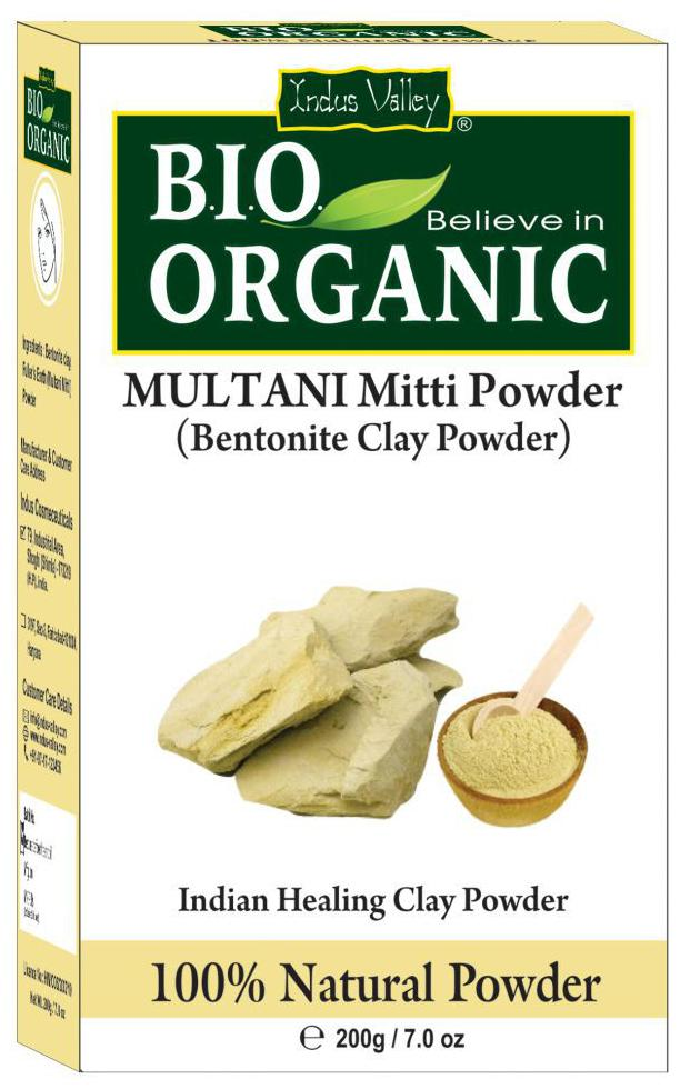 Indus Valley Multani Mitti 200 g (Pack of 1)