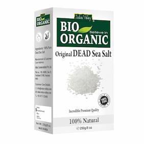 Indus Valley 100% Natural Premium Quality Dead Sea Salt (250 g ) (Pack of 1)