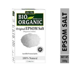 Indus Valley 100% Natural Premium Quality Epsom Salt (250 g) (Pack of 1)