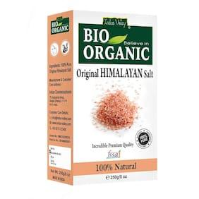 Indus Valley 100% Natural Premium Quality Himalayan Salt (250 g) (Pack of 1)