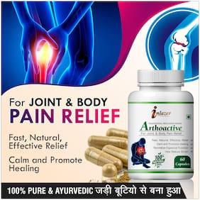 Inlazer Arthoactive Herbal Capsules For Help Reduce Strain 500mg 100% Ayurvedic