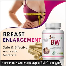 Inlazer B W Herbal Capsules For Complete Care Of Women Care 500mg 100% Ayurvedic