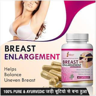 Inlazer Breast Care Herbal Capsules For Increase Breast Size 500mg 100% Ayurvedic