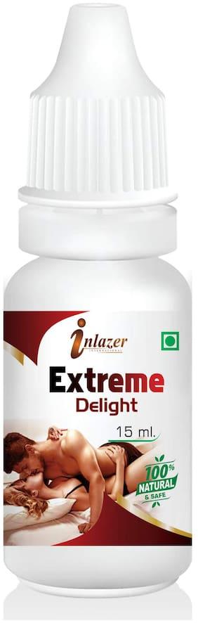 Inlazer Extreme Delight Herbal Oil For Improves Potency Of Men 15 ml 100% Ayurvedic