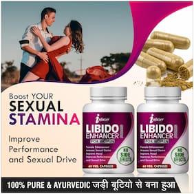 Inlazer Libido Enhancer For Women Herbal Capsules For Sexual Desire In Women 500mg 100% Ayurvedic
