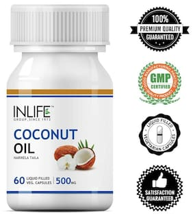 Inlife Coconut Oil 60 Capsules