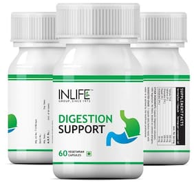 Inlife Digestion Support Supplement (60 Vegetarian Capsules)