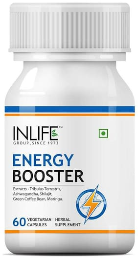 Inlife Energy Booster 60 Veg Caps