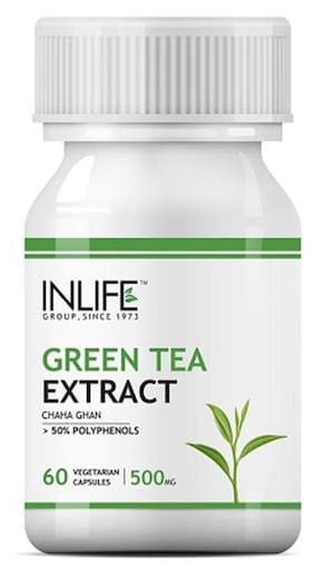 Inlife Green Tea Extract 60 Capsules